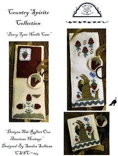 Homespun Elegance - Country Spirits Collection - Berry Tyme Needle Case_MAIN