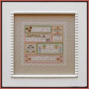 Country Cottage Needleworks - Sweet Sampler THUMBNAIL