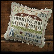 Little House Needleworks - Early Americans No. 3 Martha Washington_THUMBNAIL