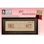 Heart In Hand Needleart - Glad & Sincere Hearts Part 2 THUMBNAIL