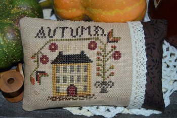 Abby Rose Designs - An Autumn Pin Pillow MAIN