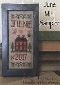 From The Heart - June Mini Sampler