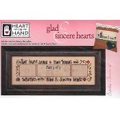 Heart In Hand Needleart - Glad & Sincere Hearts Part 3 THUMBNAIL
