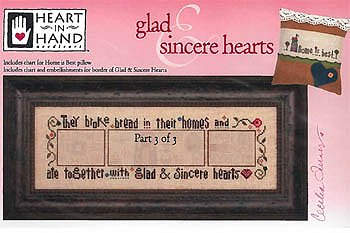 Heart In Hand Needleart - Glad & Sincere Hearts Part 3 MAIN