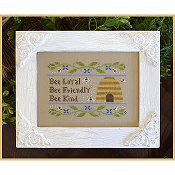 Country Cottage Needleworks - Bee Virtues THUMBNAIL