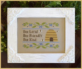 Country Cottage Needleworks - Bee Virtues MAIN