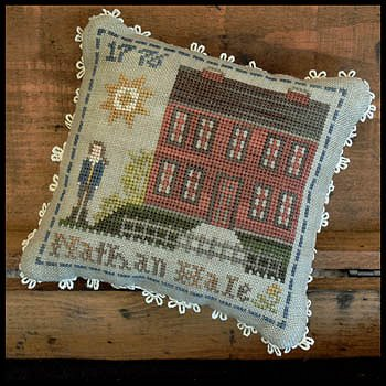 Little House Needleworks - Early Americans No. 4 Nathan Hale MAIN