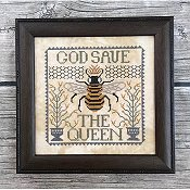 Annie Beez Folk Art - God Save The Queen THUMBNAIL