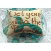 Needle Bling Designs - Get Your Tail to the Beach