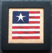 Needle Bling Designs - Home Decor - September Flag