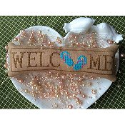 Needle Bling Designs - Wee Welcome's - July Flip Flops THUMBNAIL