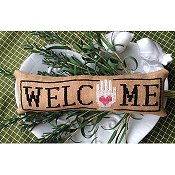 Needle Bling Designs - Wee Welcome's - September Heart In Hand THUMBNAIL