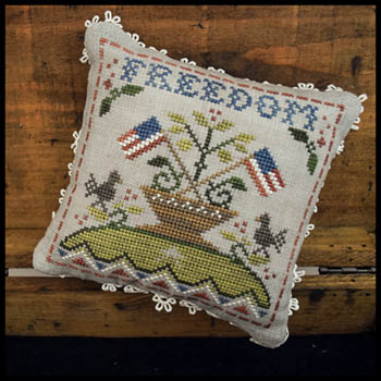 Little House Needleworks - Early Americans No. 5 Freedom MAIN