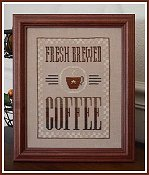 Little House Needleworks - Fresh Brewed Coffee
