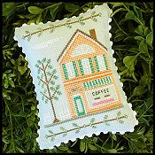 Country Cottage Needleworks - Main Street #4 Coffee Shop THUMBNAIL