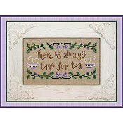 Country Cottage Needleworks - Time For Tea THUMBNAIL