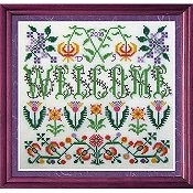 Tempting Tangles Designs - Welcome Blooming Borders THUMBNAIL