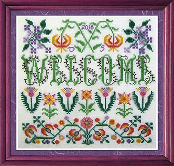 Tempting Tangles Designs - Welcome Blooming Borders MAIN