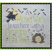 Waxing Moon Designs - Wicked Witch & Grumpy Toad