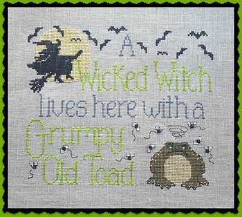 Waxing Moon Designs - Wicked Witch & Grumpy Toad MAIN