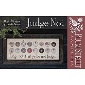 Plum Street Samplers - Judge Not THUMBNAIL