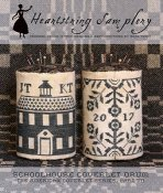 Heartstring Samplery - Schoolhouse Coverlet THUMBNAIL