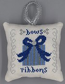 Misty Hill Studio - A Blue and Silver Christmas - Bows and Ribbons THUMBNAIL