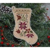 Abby Rose Designs - Sampler Stocking Ornament