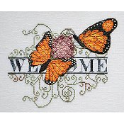 MarNic Designs - Monarch Butterfly Welcome THUMBNAIL