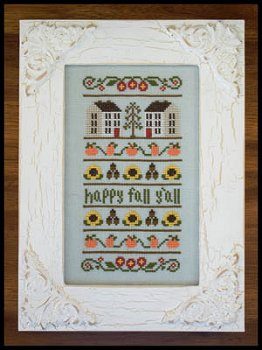 Country Cottage Needleworks - Happy Fall Y'all MAIN