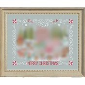 Tiny Modernist - Christmas Stitch-A-Long Border & Text THUMBNAIL