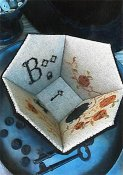 Stacy Nash Primitives - Boo Sewing Basket THUMBNAIL