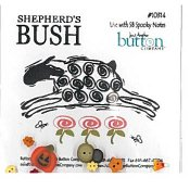 Jabco Button Pack - Shepherd's Bush - Spooky Notes THUMBNAIL