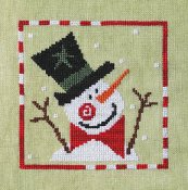Artful Offerings - Sprightly Snowman THUMBNAIL
