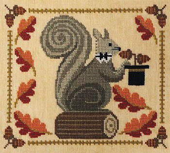 Artful Offerings - Squirrely Acorn Banquet - Squire Squirrel MAIN