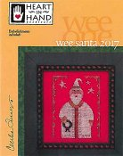 Heart In Hand Needleart - Wee One - Wee Santa 2017