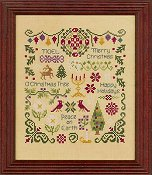 Elizabeth's Designs - Antique Christmas Sampler