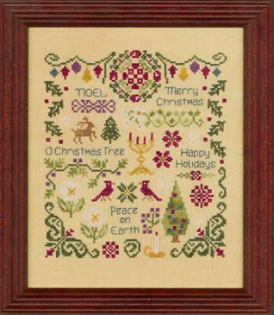 Free welcome sampler cross stitch pattern connie gee designs.