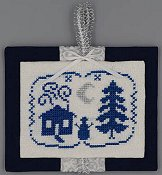 Misty Hill Studio - A Blue and Silver Christmas - Night THUMBNAIL