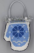 Misty Hill Studio - A Blue and Silver Christmas - Mitten THUMBNAIL