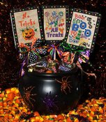 DebBee's Designs - Halloween Stake Out