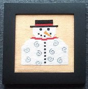 Needle Bling Designs - Home Decor - January Snowman