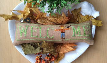 Needle Bling Designs - Wee Welcome's - October Scarecrow MAIN