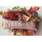 Needle Bling Designs - Wee Welcome's - November Acorn