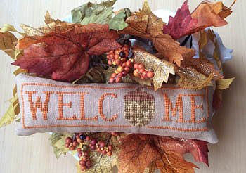 Needle Bling Designs - Wee Welcome's - November Acorn MAIN