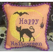 Needle Bling Designs - Halloween Moon