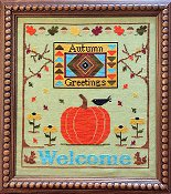 Needle Bling Designs - Autumn Greetings THUMBNAIL