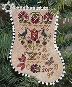 Abby Rose Designs - Tulip Basket Ornament THUMBNAIL
