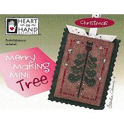 Heart In Hand Needleart - Merry Making Mini - Tree