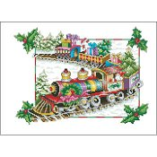 Vickery Collection - A Floral Renaissance Holiday Train